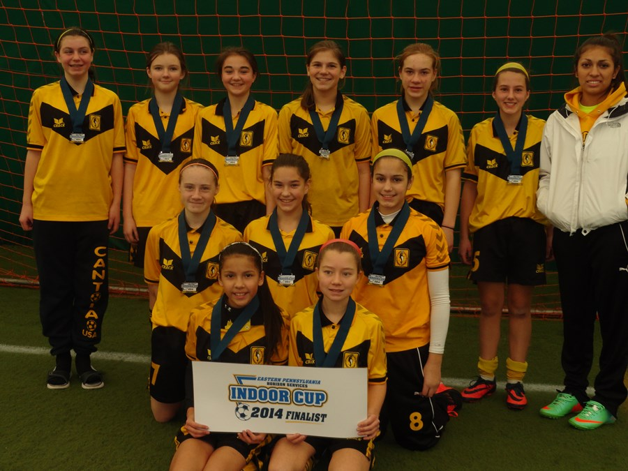 Cantolao Vipers - U13 Girls Challenge Blue Finalists