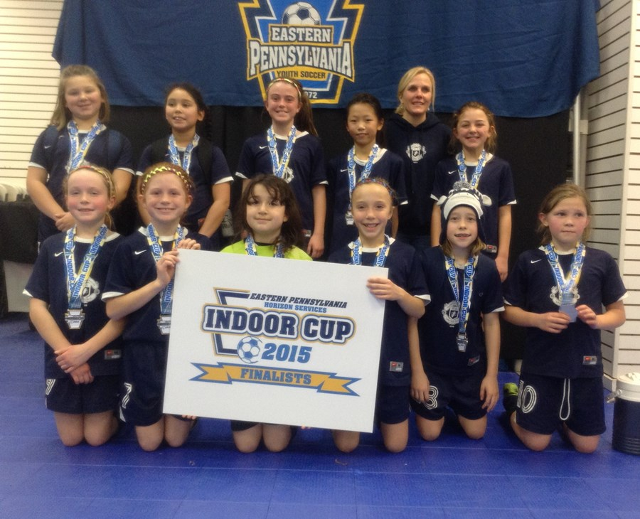 U10G Challenge Blue Division Runner-Up- NUU 04F Strikers