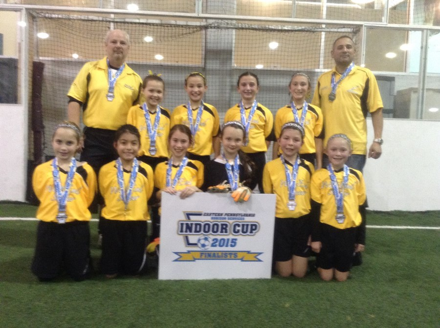 U10G Challenge White Division Runner-Up- West End Sparks