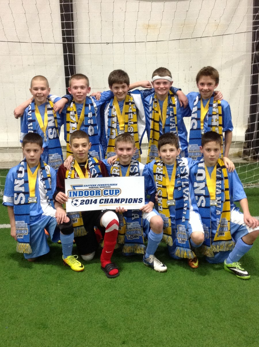 U12 Boys Challenge Division Blue Champion - Lebanon Valley Sky