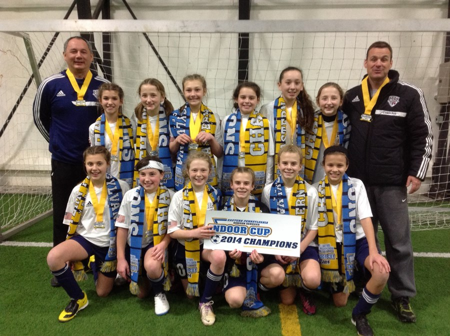 U12 Girls Challenge Division Blue Champion - Quakertown Blue Tigers