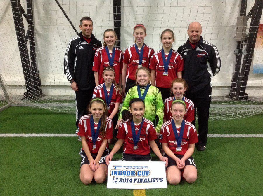 U12 Girls Challenge Division Blue Finalist - Parkland Power