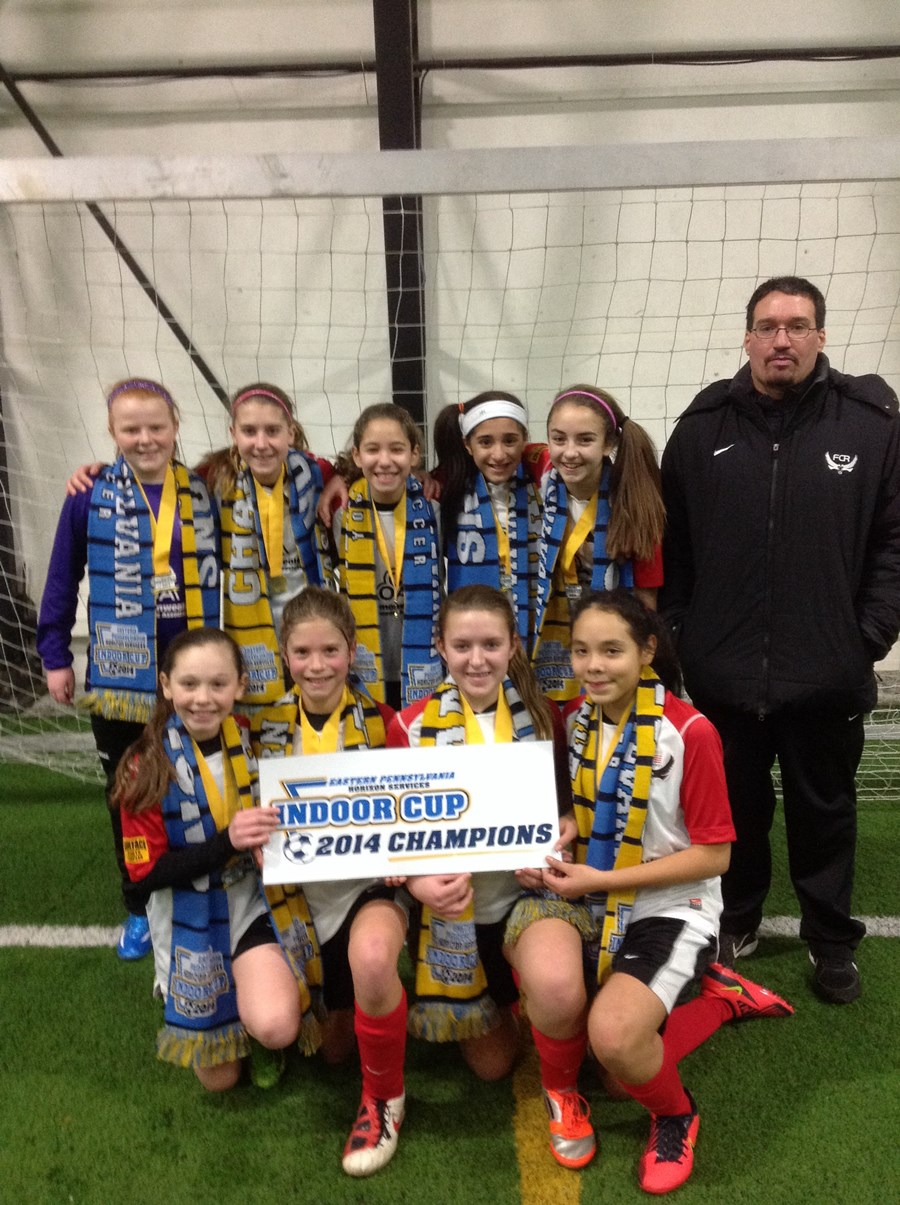 U12 Girls Challenge Division White Champion - FC Revolution Thunder