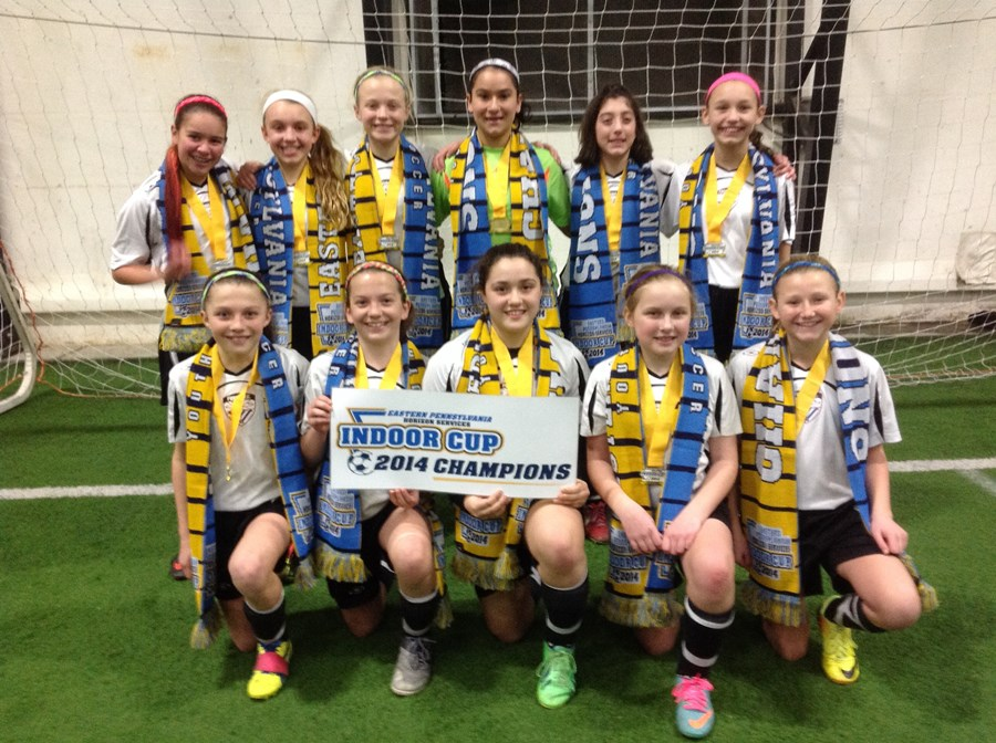 U12 Girls Elite Division Champion - Fusion FC Strikers