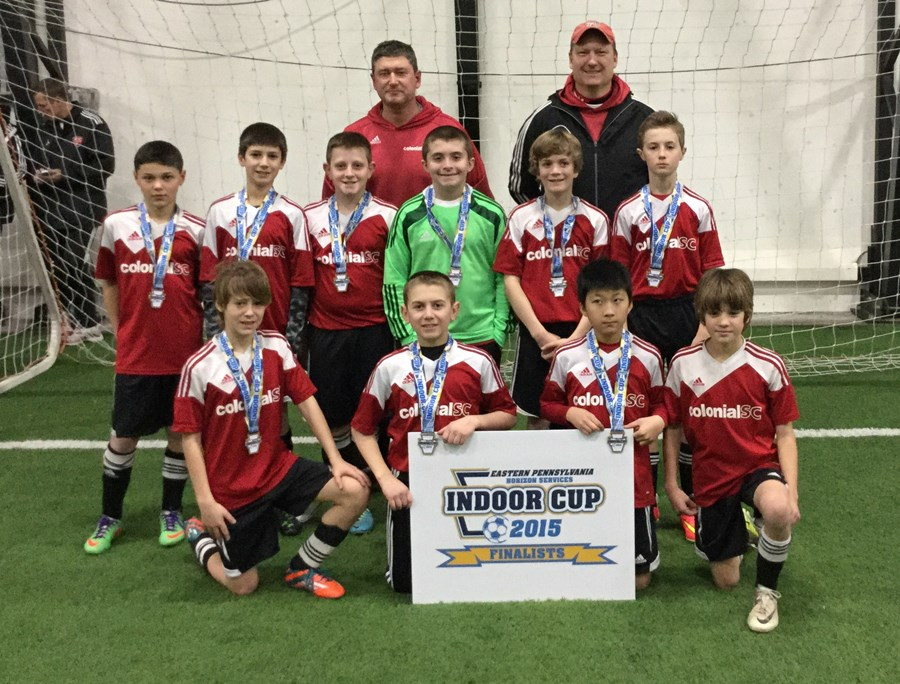 U12B White Challenge Division Finalists- Colonial Crew