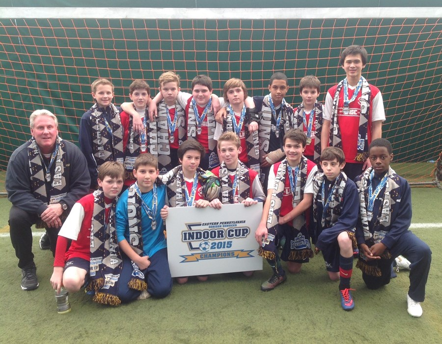 U13B Elite Champions- Lower Merion SC Aztecs
