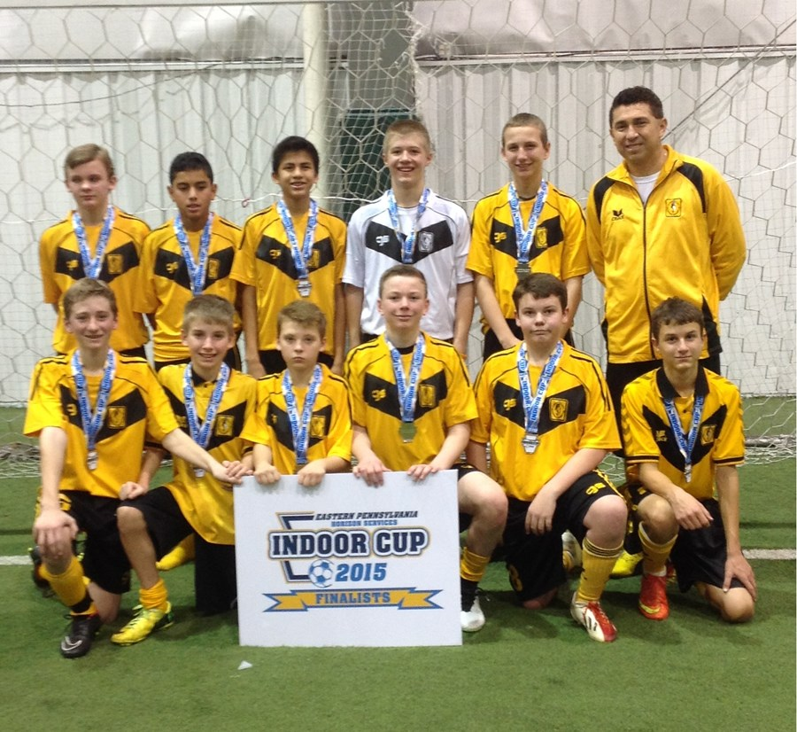 U14B Challenge Runner-Up- Cantolao Strikers