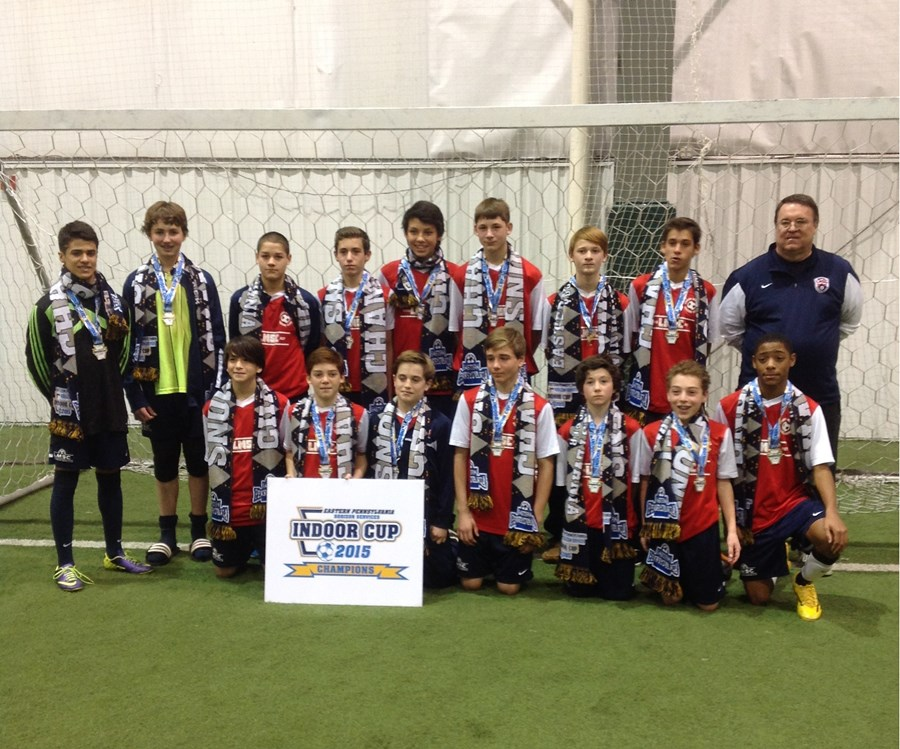 U14B Elite Champions- Lower Merion Sabertooth Rats