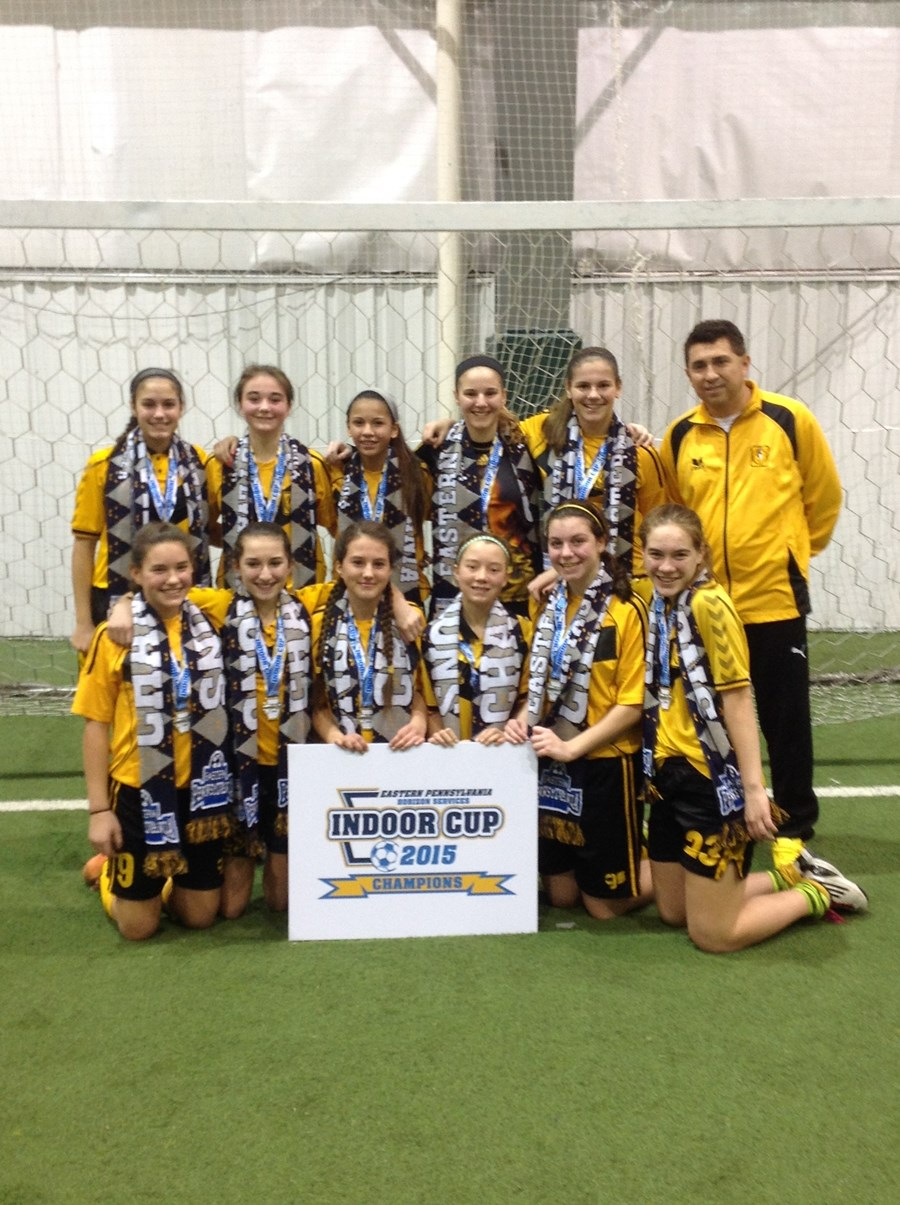 U14G Challenge Blue Division Champions- Cantolao Vipers