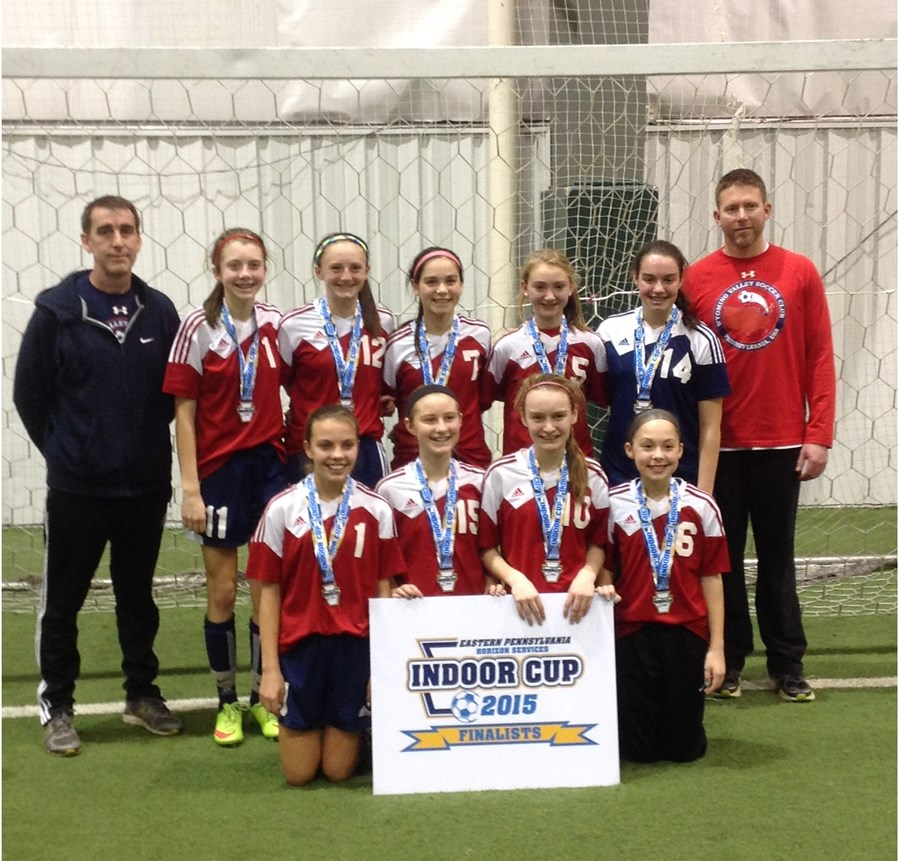 U14G Challenge Blue Runner-Up- Wyoming Valley 01 Girls