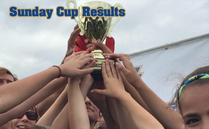 Sunday Cup Final Results