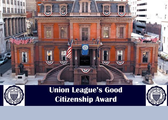 Union League's Good Citizenship Award