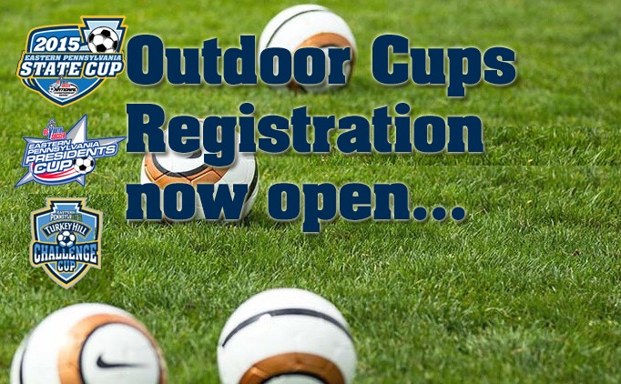 Outdoor Cup Registration now open