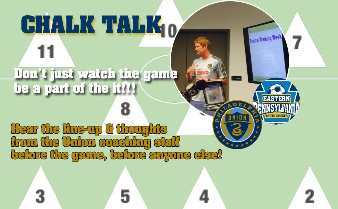 Chalk Talks back for 2015