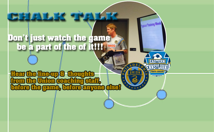 Register Today for a Chalk Talk