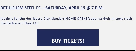City Islanders Beth Steel tickets