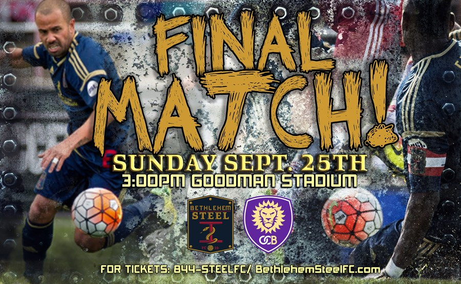 Final match Bethlehem Steel FC