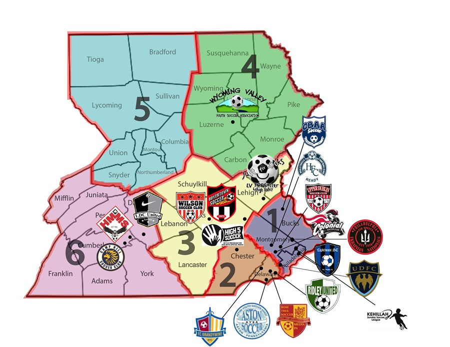 TOPSoccer-New District Map 4-6-2018