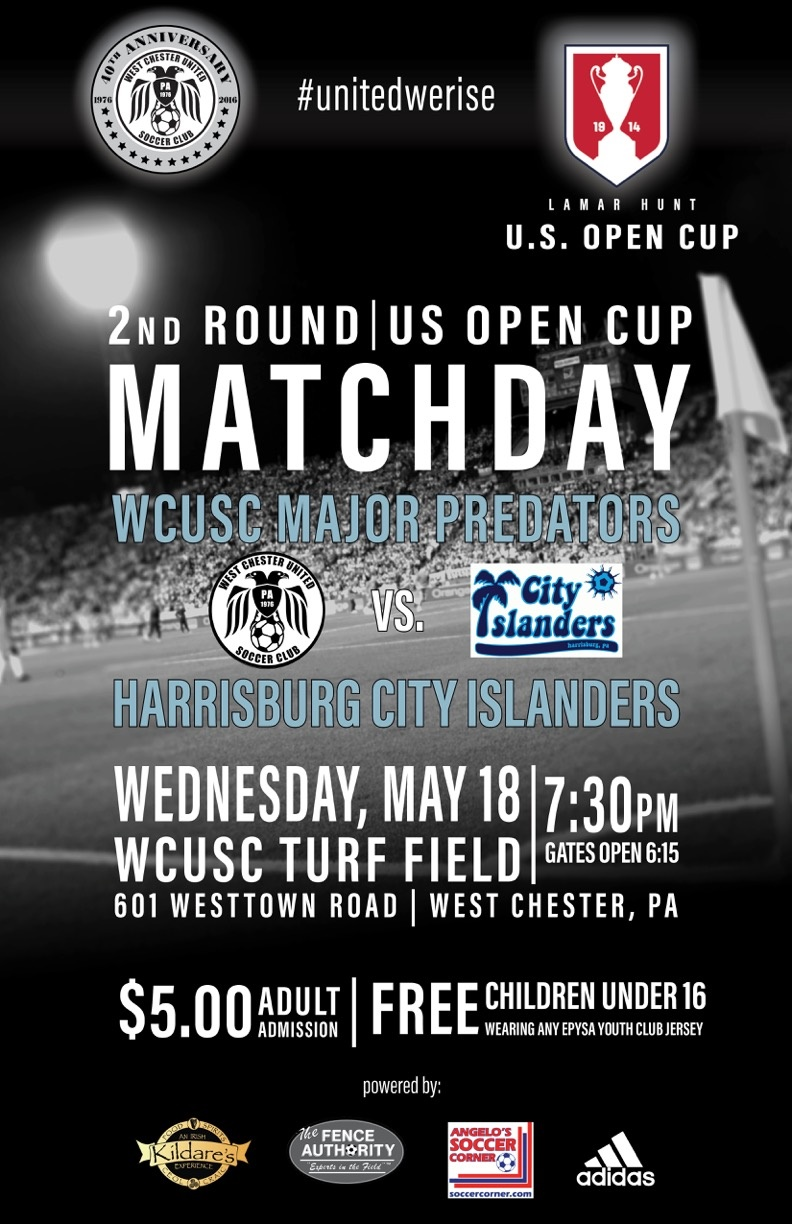 WCU Lamar Hunt US Open Cup game
